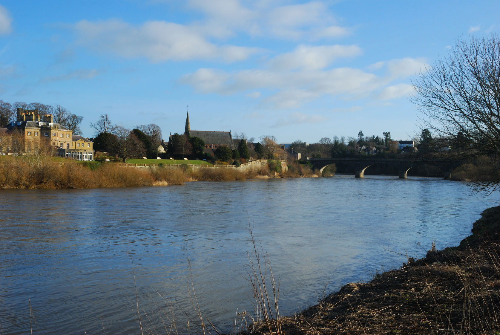 Kelso and River Tweed